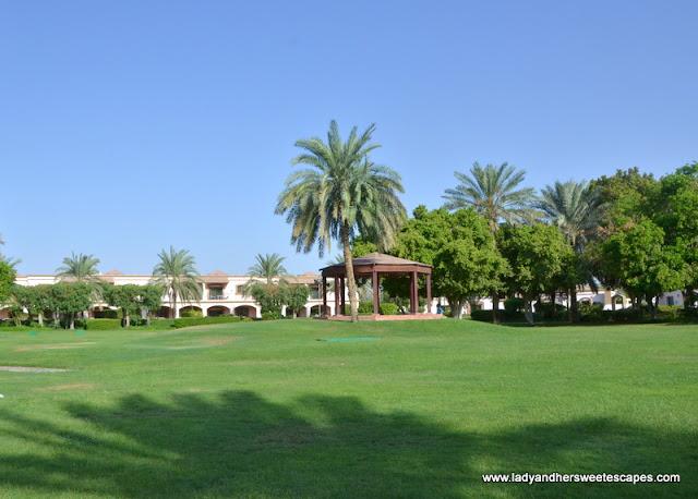 Danat Al Ain Resort garden