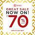 Promo SOGO Department Store GREAT SALE Up To 70% Hingga 31 Juli 2017