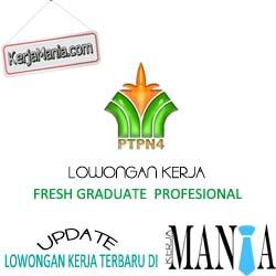 Lowongan Kerja PT Perkebunan Nusantara IV (Persero)