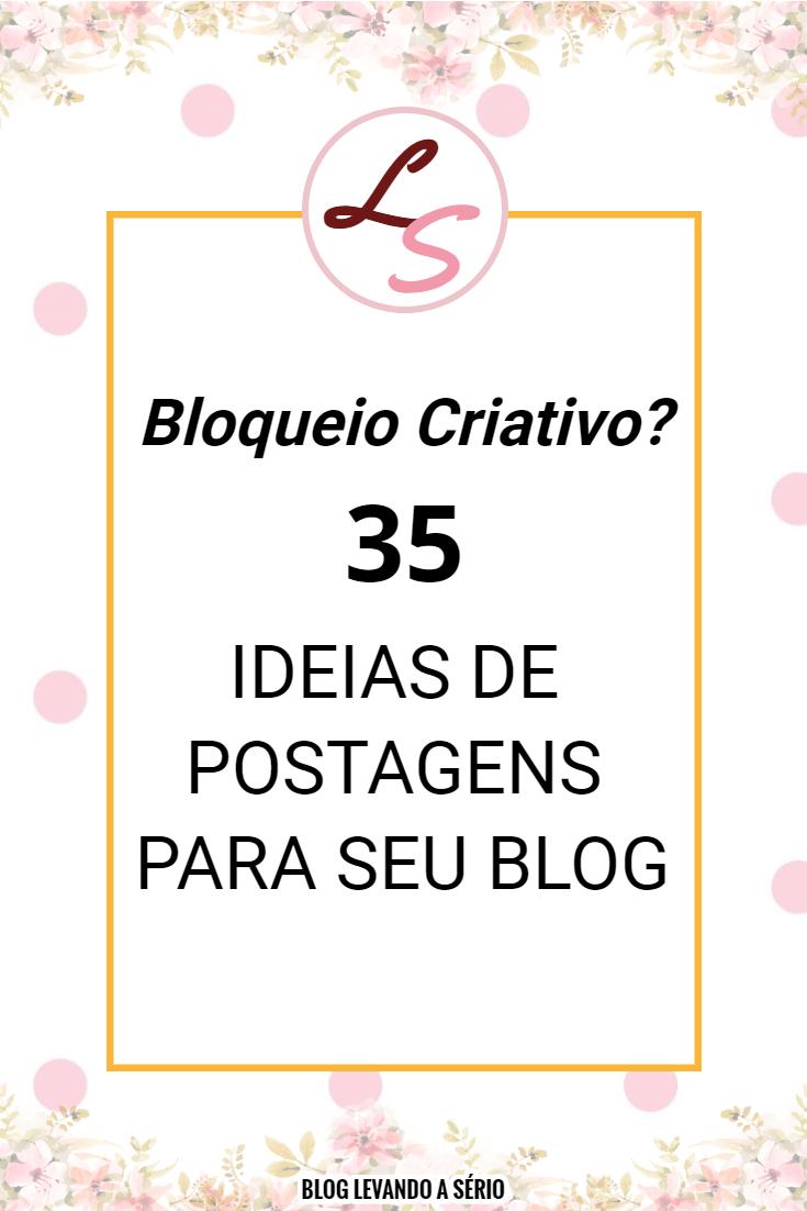 Posts para seu blog