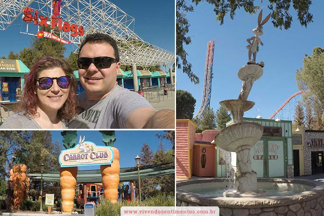 Pier de Santa Monica e Six Flags Magic Mountain - Viagem para a Califórnia