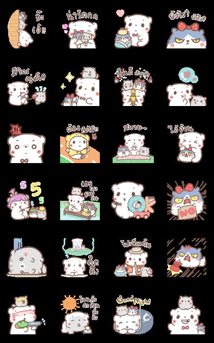BearPlease: Pop-Up Stickers 3