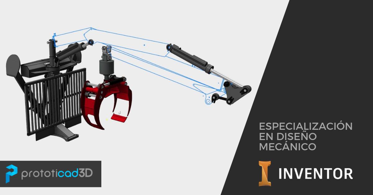 Especialización en Diseño Mecánico con Autodesk Inventor