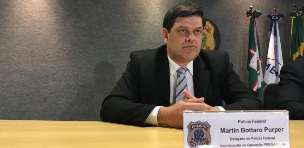 O delegado Federal Martin Bottaro Purper. (Foto: Ascom/PF)