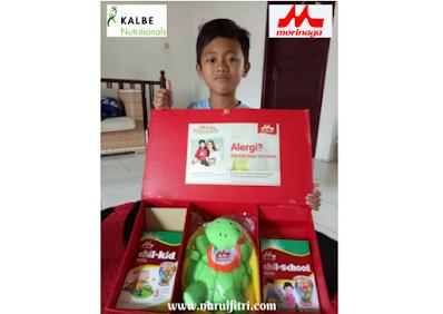Bebas alergi dengan susu morinaga childkid soya