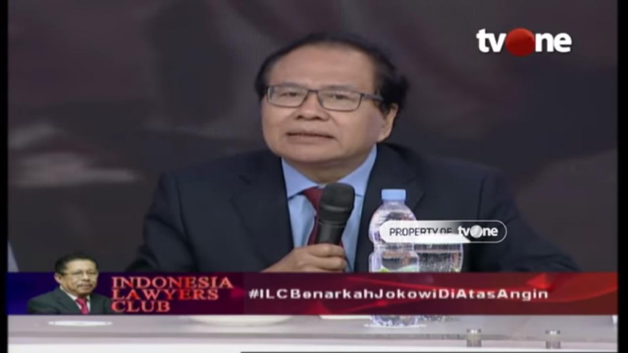 #ILCBenarkahJokowiDiAtasAngin, Dua Pendapat Rizal Ramli Bikin Telinga 01 Panas
