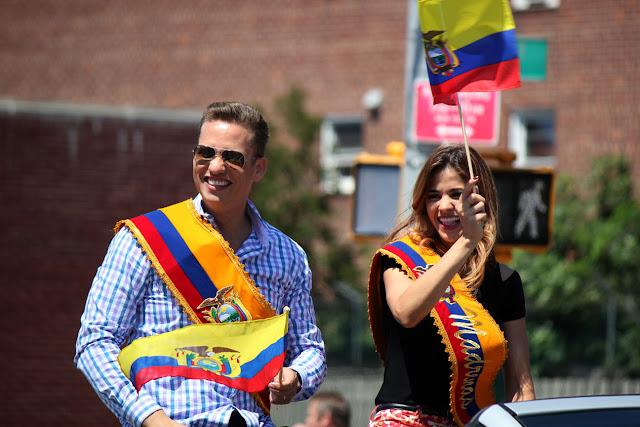 PADRINO Y MADRINA DEL DESFILE ECUATORIANO QUEENS NYC 2016