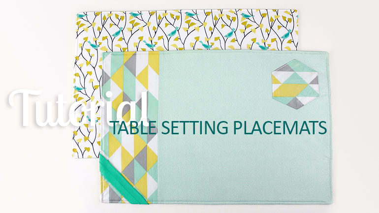 Tutorial: Table Setting Placemat | The Inspired Wren