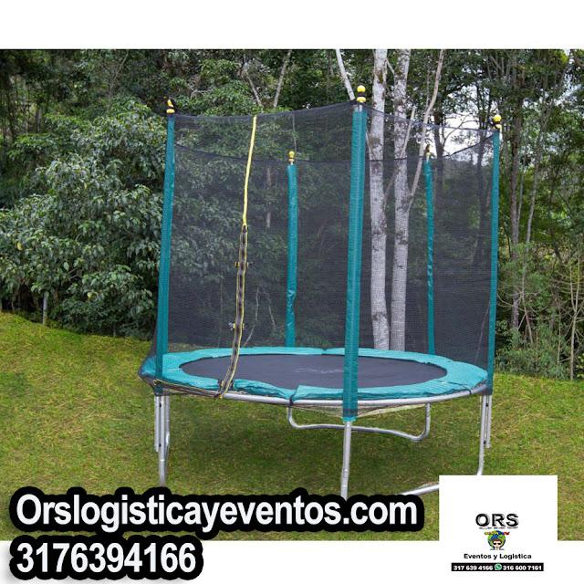 alquiler trampolines