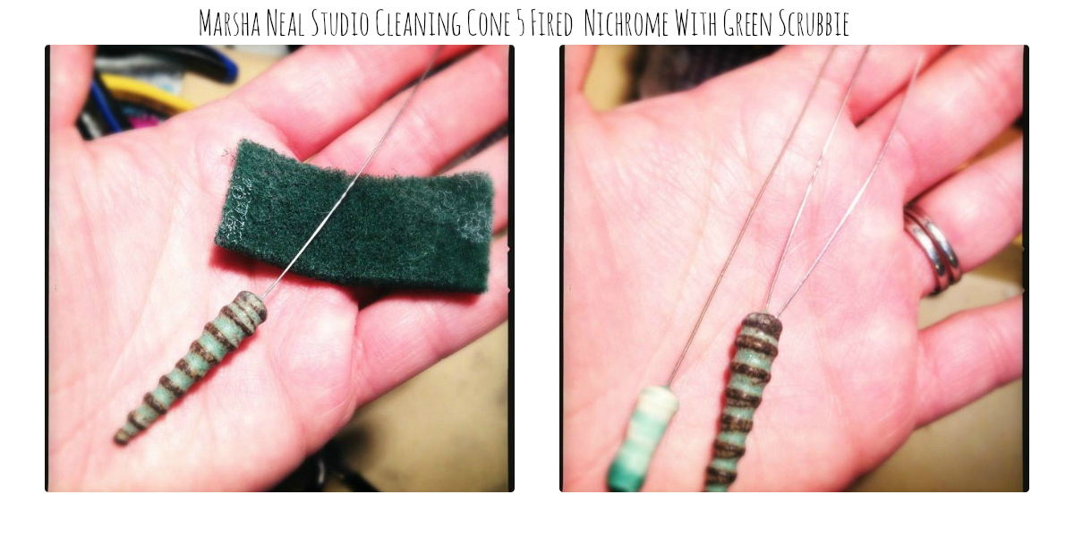 Love My Art Jewelry: Nichrome Wire In Ceramic Beads