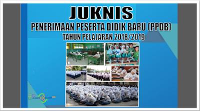 Download Juknis PPDB Kemdikbud tahun 2018/2019 PDF
