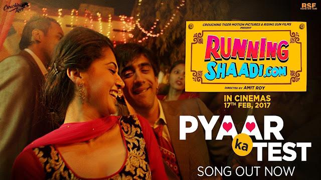 Pyaar Ka Test Lyrics - RunningShaadi.com - Bappi Lahiri