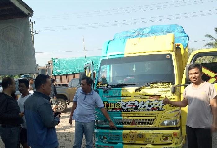 Tim Gabungan Berhasil Amankan Truck Curian