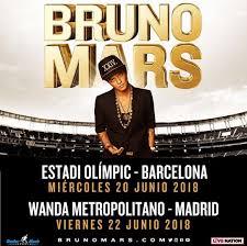 Ya a la venta entradas para el concierto de Bruno Mars en el estadio Wanda Metropolitano