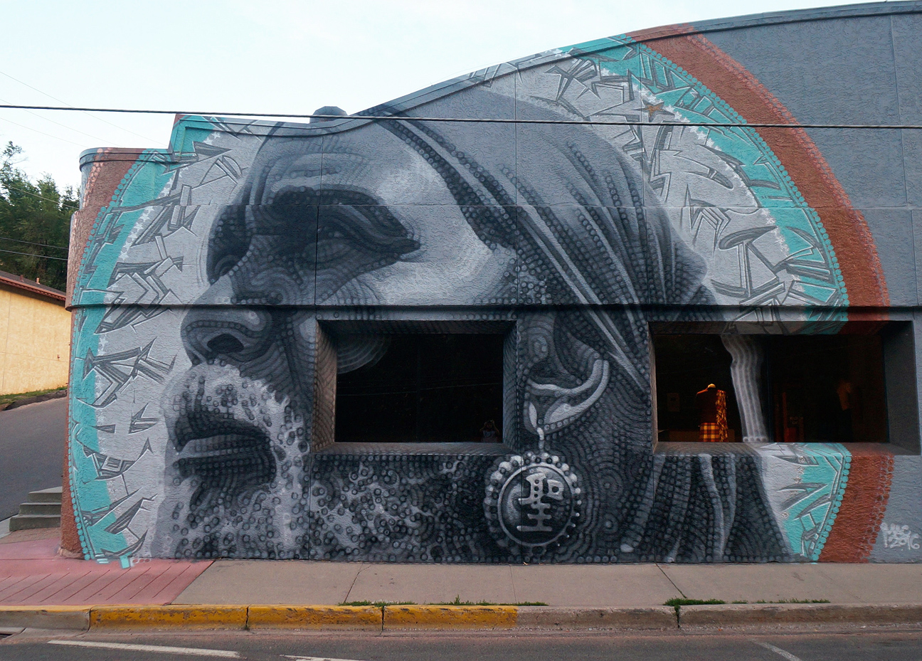 Art colorado springs - This Is A Mural I Painted Over The Summer Commissioned For The Manitou Art Center The Mac In Manitou Springs Colorado The Mural Is A Collaboration With
