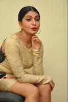 Actress Pooja Roshan Stills in Golden Short Dress at Box Movie Audio Launch  0092.JPG