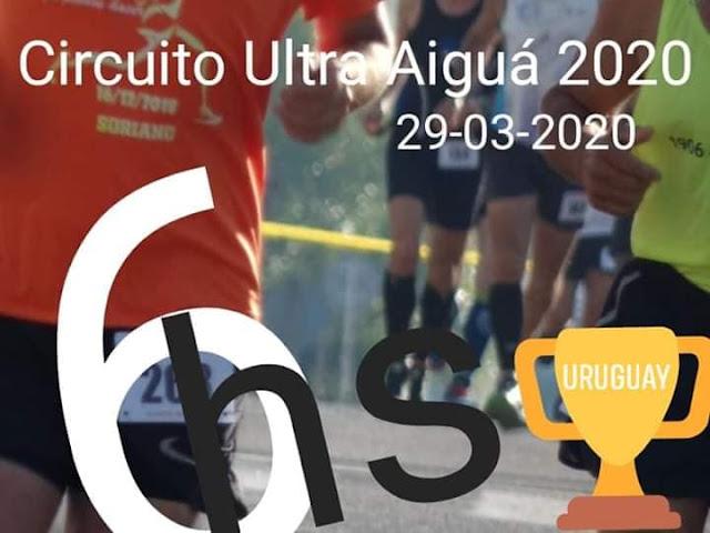 Circuito Ultra Aiguá 6hs (Aiguá - Maldonado, 29/mar/2020)