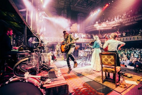 "David Crowder jams to his own ""folktronica"" music."