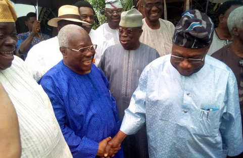 Obasanjo End Beef With Bode George, Visits Him At Home