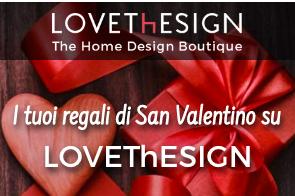 Logo Richiedi gratis il catalogo LoveThEsign : il design dell'arredamento a casa tua
