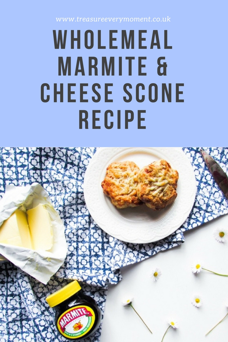 Summer recipe wholemeal cheese and marmite scones for Homemade marmite recipe