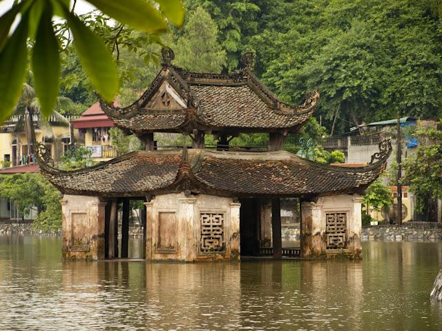 Teatro de Marionetas en la Pagoda Thay