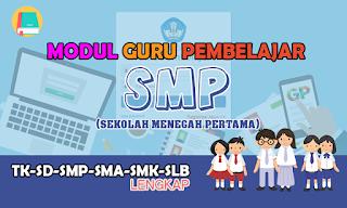 modul guru pembelajar SMP