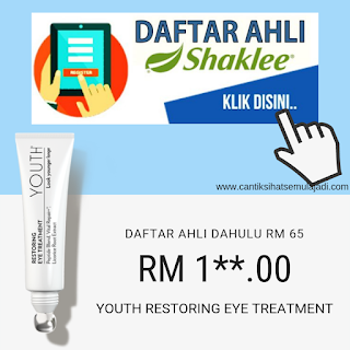 Beli Youth Shaklee Restoring Eye Treatment Harga Ahli