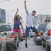 Checkout Pre-Wedding Photos Of A Nigerian Lady & Her Spanish Fiance Taken On Traffic