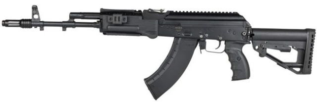 Image Attribute: 7.62X39mm Kalashnikov AK-203 Assault Rifle