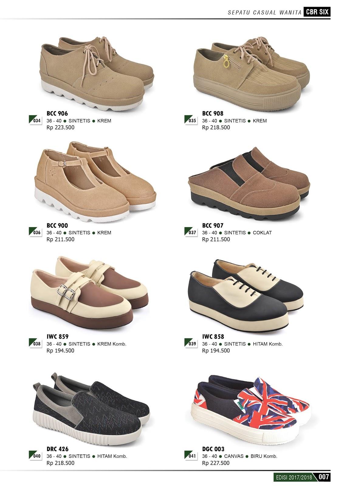 katalog produk terbaru cbr 6 six 20172018 sepatu dan sendal