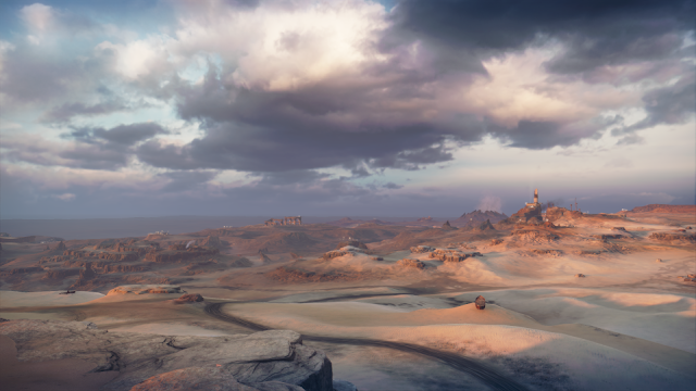 Peisaj - Capturã din jocul Mad Max - blog FOTO-IDEEA