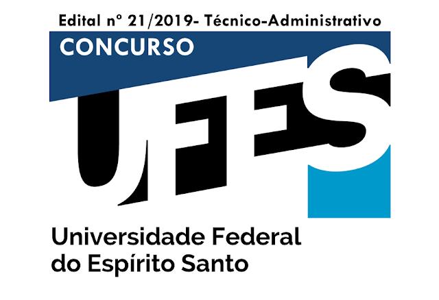 Concurso UFES edital 2019: Oferece nove vagas!