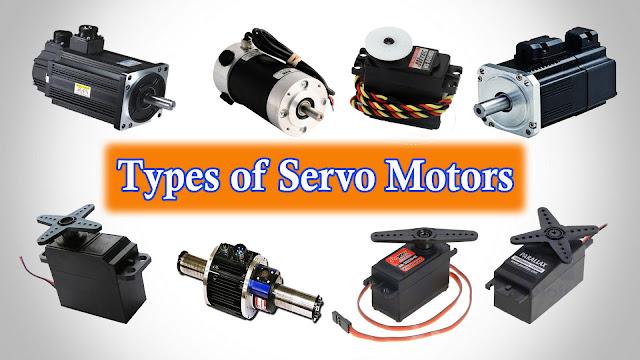 Servo motor types of servo motors applications of for Types of motors used in robotics pdf