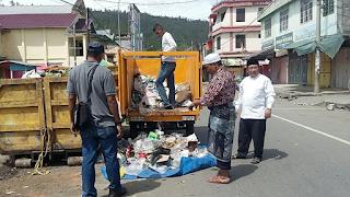 Walau Lebaran, Kebersihan Kota Takengon Tetap Dijaga