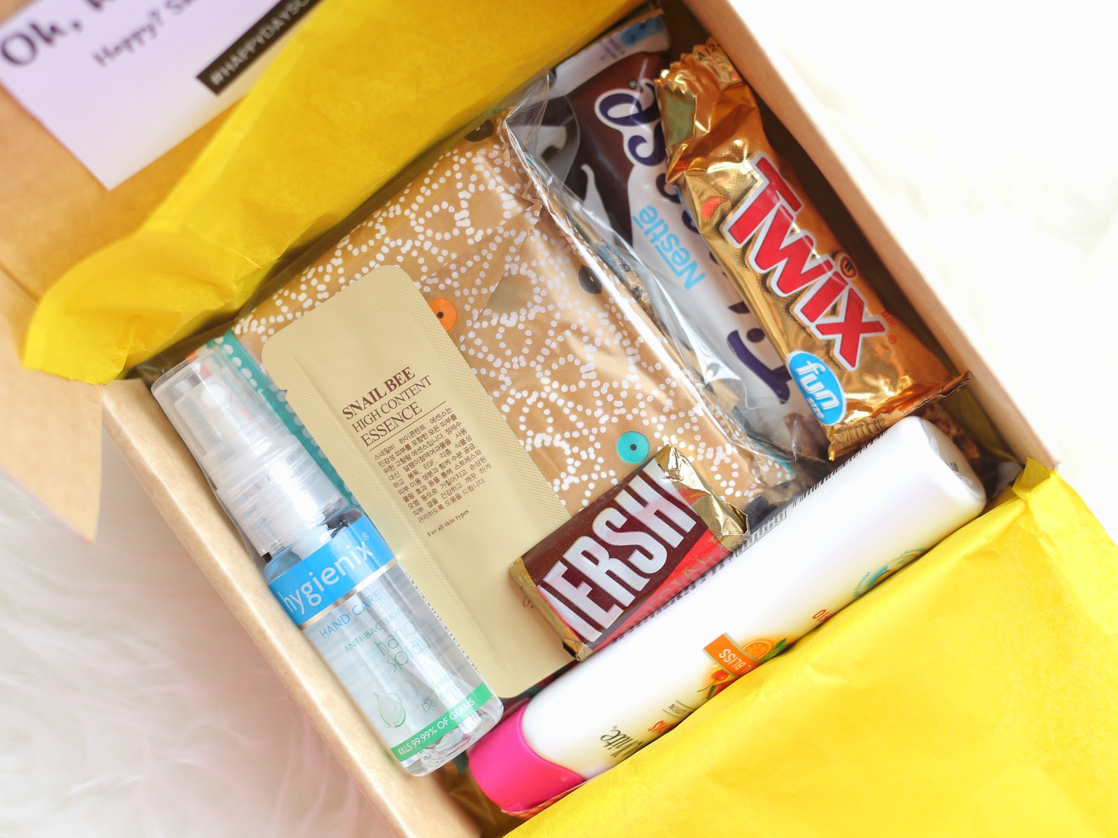 Happy Days Club Box Review Period Subscription Box Manila Philippines