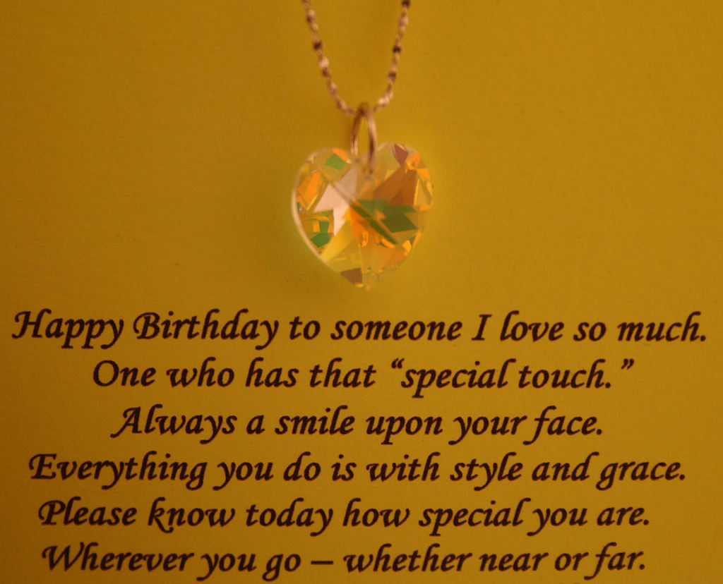 Happy Birthday To A Special Sister Quotes: Birthday Poems