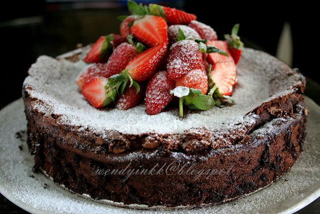 Flourless Nutella Cake Nicko
