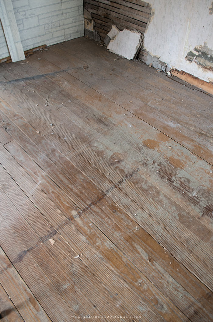 1900s original hardwood floor
