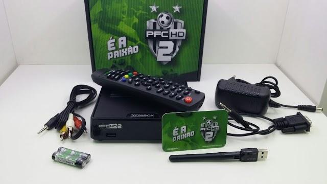 TOCOMBOX PFC HD 2 NOVA ATUALIZAÇÃO V01.055 - 12/11/2019