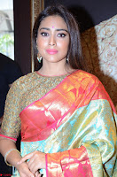 Shriya Saran Looks Stunning in Silk Saree at VRK Silk Showroom Launch Secundrabad ~  Exclusive 129.JPG