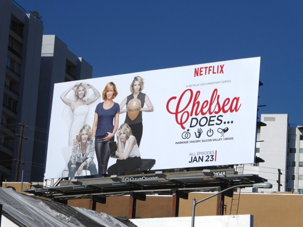 Chelsea Does season 1 billboard