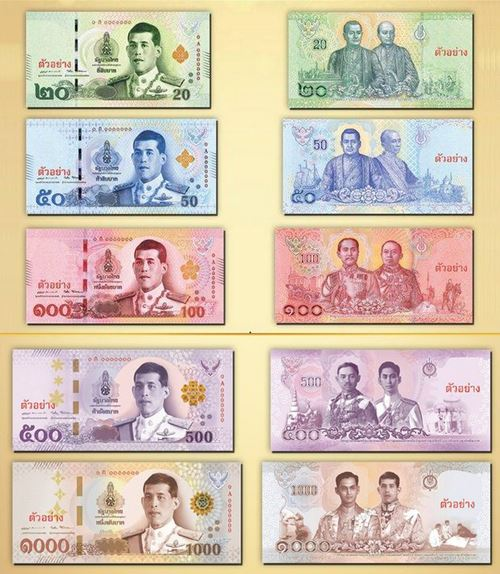 lunaticg: New King Rama X Banknotes Unveiled