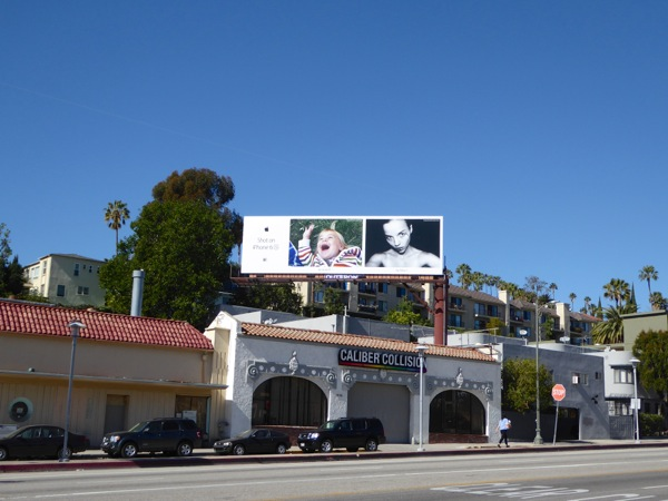 Shot on iPhone 6s billboard