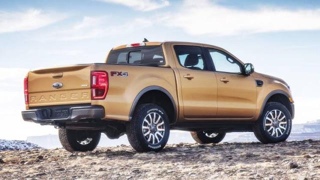 2019 Ford Ranger Midsize Pickup Start At $25,395