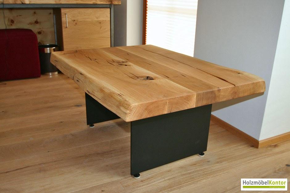 Wohnkantine  Wohnideen vom Holzmöbelkontor  Couchtisch