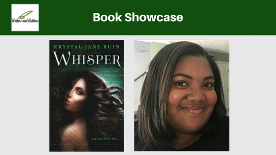 Book Showcase: Whisper by Krystal Jane Ruin