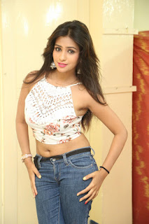 Deekshita Parvathi in a short crop top and Denim Jeans Spicy Pics Beautiful Actress Deekshita Parvathi January 2017 CelebxNext (245).JPG