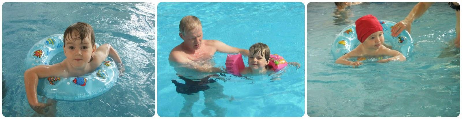 Дети в бассейне. Наш опыт.