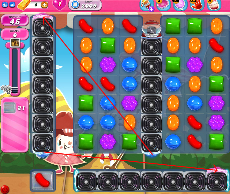 Candy Crush Saga 2009
